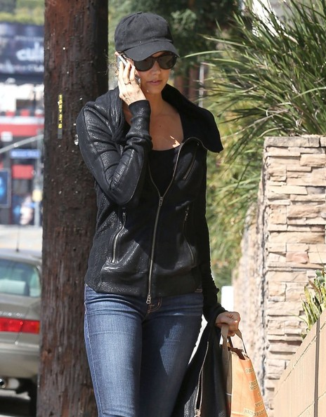More Pics of Stacy Keibler Skinny Jeans (1 of 16) - Skinny Jeans Lookbook - StyleBistro