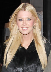 Tara Reid wore her hair long and straight while attending a concert in Los Angeles.
