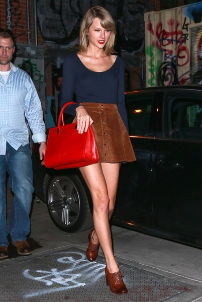 Taylor Swift Leather Tote []