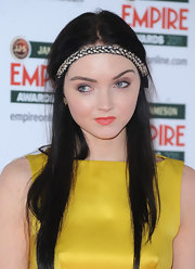 Lily Cole was hippie-glam at the Jameson Empire Film Awards with this bedazzled braided headband.