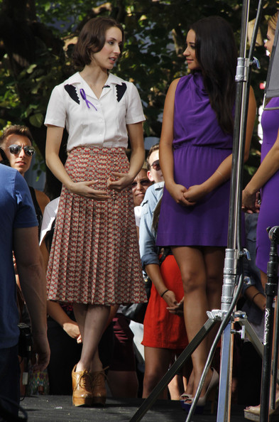 Troian Bellisario Knee Length Skirt