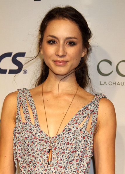 Troian Bellisario Half Up Half Down
