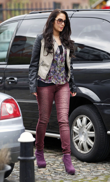 More Pics of Tulisa Contostavlos Wedge Boots (1 of 8) - Tulisa Contostavlos Lookbook - StyleBistro