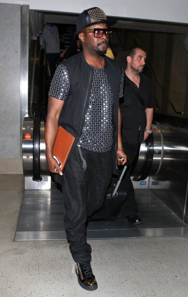 More Pics of will.i.am Embellished Top (1 of 5) - will.i.am Lookbook - StyleBistro []