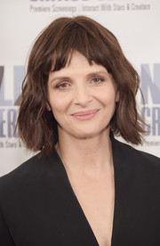 Juliette Binoche looked lovely with her short waves at the premiere of '1,000 Times Good Night.'