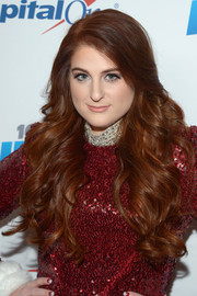 Meghan Trainor's flowing curls during KIIS FM's Jingle Ball 2016 looked totally worthy of a shampoo ad!