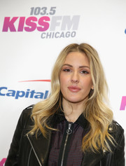 Ellie Goulding looked lovely with her long waves during KISS FM's Jingle Ball 2016.
