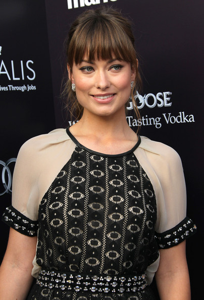 More Pics of Olivia Wilde Hard Case Clutch (1 of 16) - Olivia Wilde Lookbook - StyleBistro