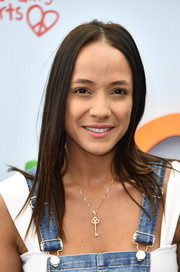 Dania Ramirez sported a simple layered cut at the Empathy Rocks fundraiser.