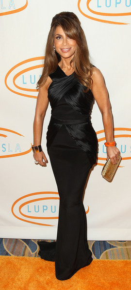 More Pics of Paula Abdul Gold Dangle Earrings (1 of 19) - Paula Abdul Lookbook - StyleBistro