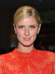 Nicky Hilton was all glammed up at the Brazil Foundation NYC Gala with this elegant side-parted updo.