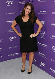 Soleil Moon Frye chose a lace LBD for her look at the 12th Annual Chrysalis Butterfly Ball.