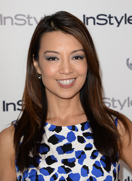 More Pics of Ming-Na Wen Smoky Eyes (1 of 6) - Ming-Na Wen Lookbook - StyleBistro