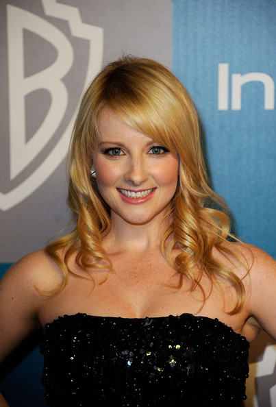 More Pics of Melissa Rauch Strapless Dress (1 of 2) - Melissa Rauch Lookbook - StyleBistro