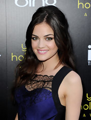 Lucy Hale styled her mane in soft waves for the Young Hollywood Awards. She added a little volume to her look by teasing her roots.