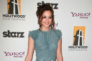 Actress Leighton Meester attends the 14th annual Hollywood Awards Gala at The Beverly Hilton Hotel on October 25, 2010 in Beverly Hills, California.
