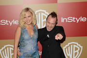 Malin Akerman and Roberto Zincone Photo