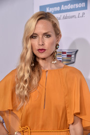 Rachel Zoe opted for a wavy side sweep when she attended the Chrysalis Butterfly Ball.