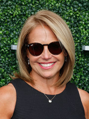 Katie Couric sported a perfectly styled bob at the USTA opening night gala.