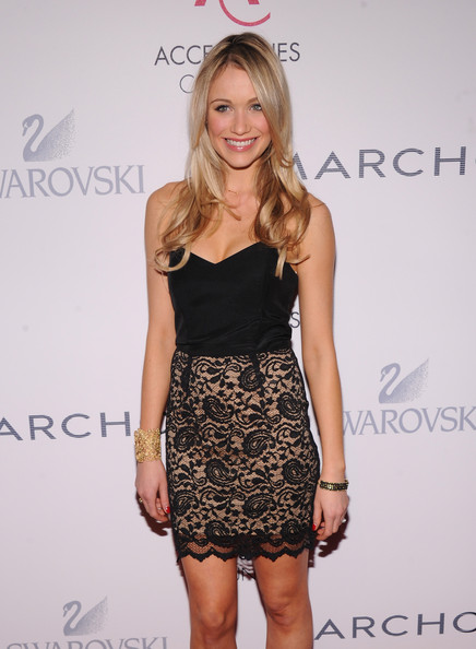 More Pics of Katrina Bowden Strapless Dress (1 of 14) - Katrina Bowden Lookbook - StyleBistro