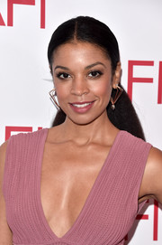 Susan Kelechi Watson pulled her long hair back into a ponytail for the AFI Awards.