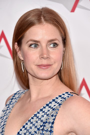 Amy Adams went minimal with this straight center-parted hairstyle at the AFI Awards.