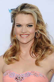 Missi Pyle attended the 17th Annual Critics' Choice Movie Awards wearing her hair in stylishly mussed curls.