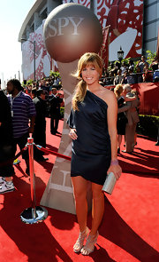 Paula Creamer wore a simple yet elegant one-shoulder dress to the ESPY Awards.
