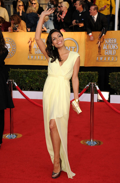 Rosario Dawson at the 2011 SAG Awards