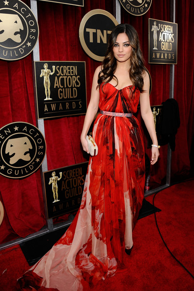 Mila Kunis at the 2011 SAG Awards