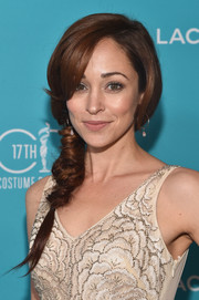 Autumn Reeser wore a unique and very charming loose braid to the Costume Designers Guild Awards.