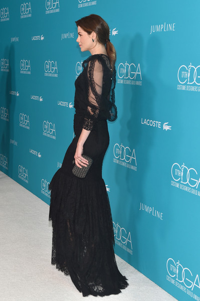More Pics of Michelle Monaghan Loose Ponytail (1 of 13) - Michelle Monaghan Lookbook - StyleBistro