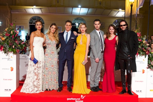More Pics of Ana de Armas Print Dress (5 of 33) - Dresses & Skirts Lookbook - StyleBistro [red carpet,event,ceremony,carpet,fashion,gown,formal wear,flooring,marriage,dress,director,david menkes,andrea duro,megan montaner,alejandra onieva,l-r,17th,malaga film festival: day 6,actors,malaga]