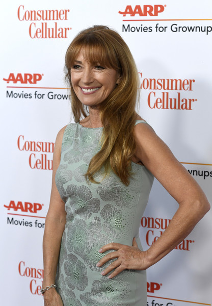 More Pics of Jane Seymour Cocktail Dress (1 of 4) - Jane Seymour Lookbook - StyleBistro [hair,hairstyle,premiere,long hair,dress,shoulder,brown hair,waist,cocktail dress,hair coloring,arrivals,jane seymour,movies for grownups awards,beverly hills,california,beverly wilshire four seasons hotel,aarp the magazine]