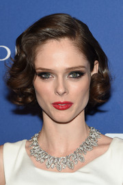 Coco Rocha went vintage-glam with this curled bob for the 2014 ACE Awards.