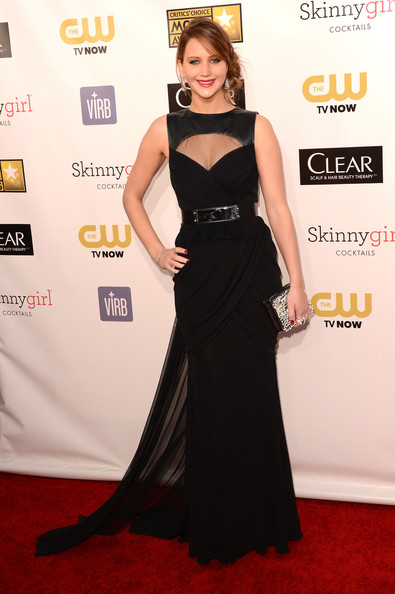 Jennifer Lawrence at the 2013 Critics' Choice Awards