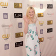 Elle Fanning at the 2013 Critics' Choice Awards