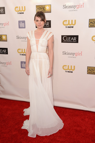 Clea DuVall at the 2013 Critics' Choice Awards