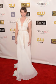 Clea DuVall was one of the favorites of the night in this angelic white cutout dress.