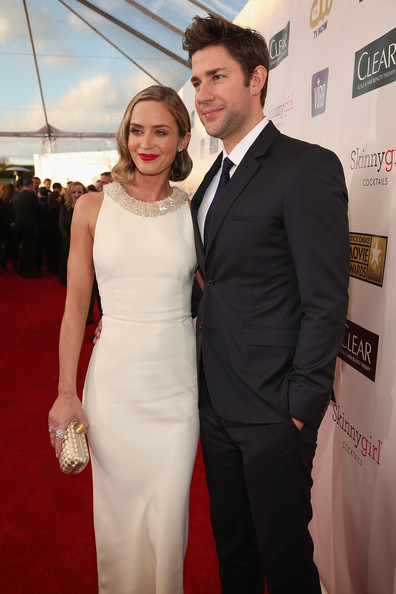 More Pics of Emily Blunt Cocktail Dress (2 of 25) - Emily Blunt Lookbook - StyleBistro