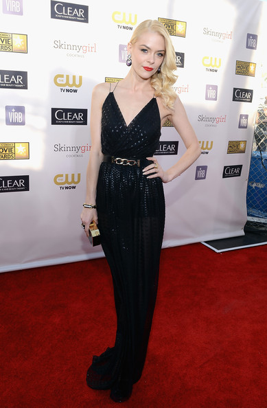Jaime King at the 2013 Critics' Choice Awards