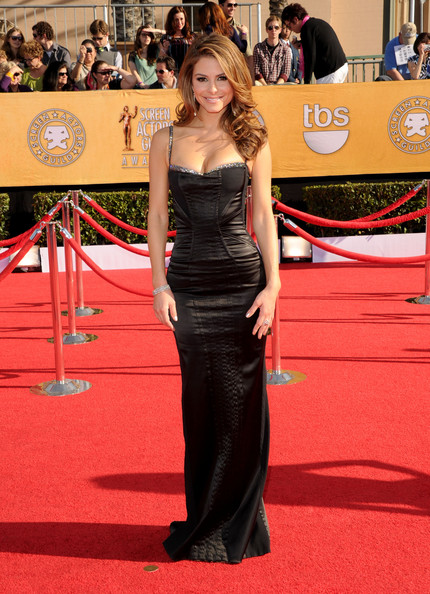 Maria Menounos at the 2012 SAG Awards