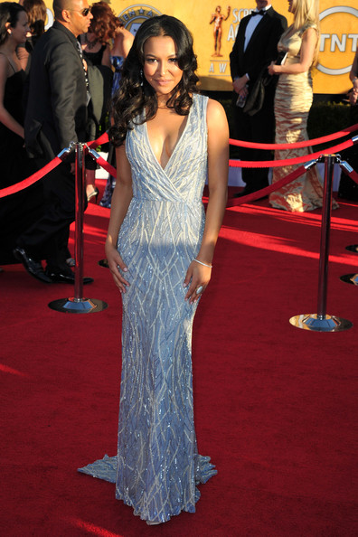 Naya Rivera at the 2012 SAG Awards