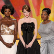 Emma Stone and Octavia Spencer