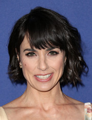 Constance Zimmer made an appearance at the Costume Designers Guild Awards sporting her usual short waves.