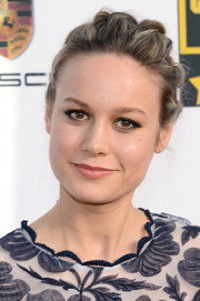 Brie Larson attended the Critics' Choice Awards wearing a fun-looking twisty updo.