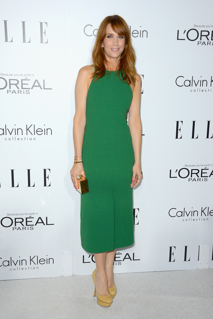 Actress Kristen Wiig arrives at ELLE's 19th Annual Women In Hollywood Celebration at the Four Seasons Hotel on October 15, 2012 in Beverly Hills, California.
