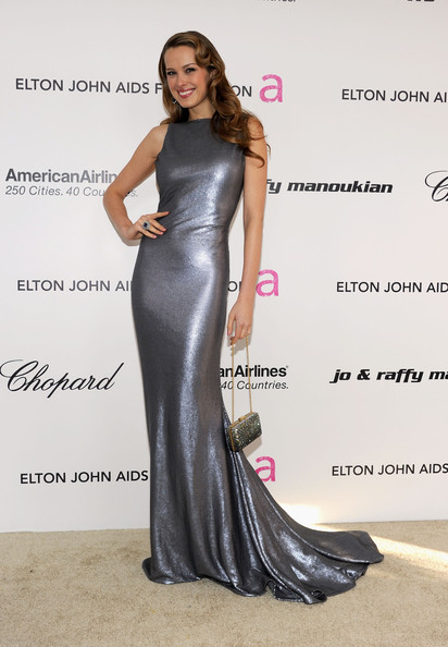 Petra+Nemcova in 19th Annual Elton John AIDS Foundation Academy Awards Viewing Party - Red Carpet