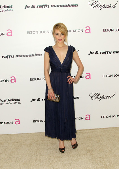 Dianna+Agron in 19th Annual Elton John AIDS Foundation's Oscar Viewing Party - Arrivals