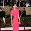 Nina Dobrev Wore a Hot Pink Elie Saab at the 2013 SAG Awards